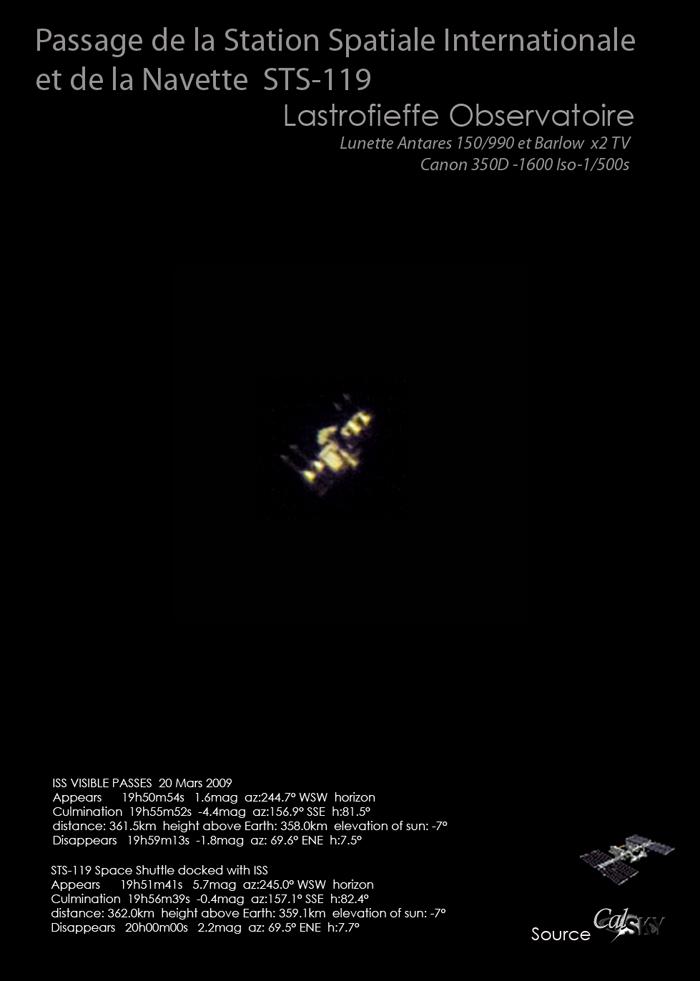 magnitude apparente des étoiles